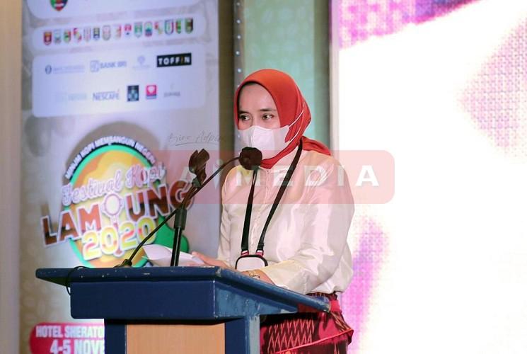 Buka Acara Festival Kopi Lampung 2020, Riana Sari Arinal: Bangkitkan Kembali Semangat Industri Kopi Lampung