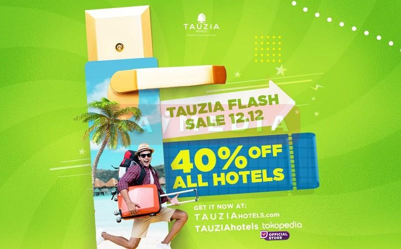 TAUZIA Hotels Adakan TAUZIA Flash Sale 12.12 di Harbolnas