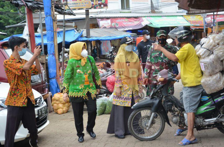 Kapolres Kota Metro Pimpin Tim II, Sosialisasi di Kecamatan Metro Pusat