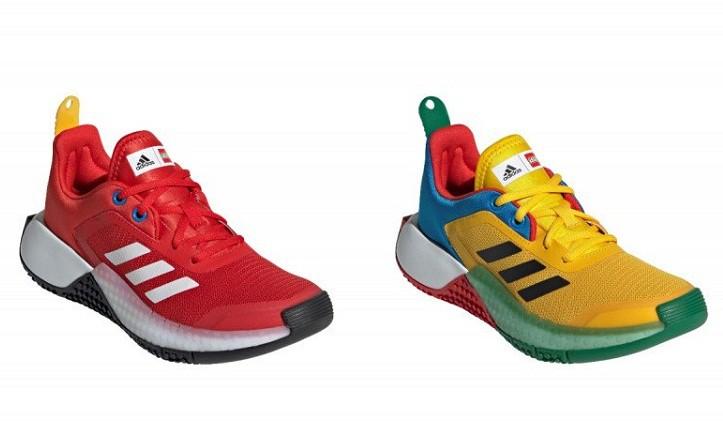 Lego Kolaborasi dengan Adidas Membuat Koleksi Sepatu, Kaos dan Botol Minum