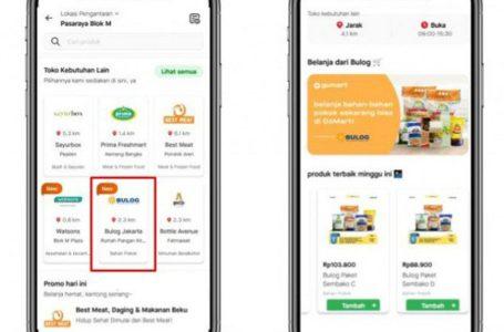 Belanja Kebutuhan Pokok dari Bulog Bisa Lewat Aplikasi GoJek, Tinggal Klik GoMart