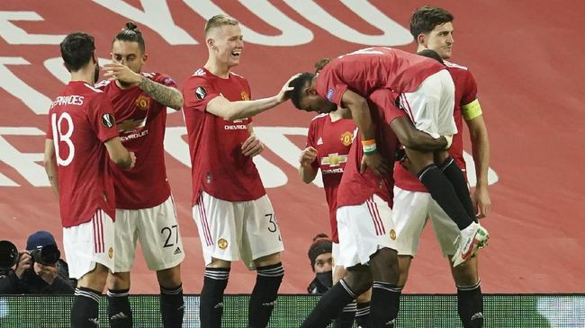 AC Milan Out, Manchester United Lolos Perempat Final Liga Eropa