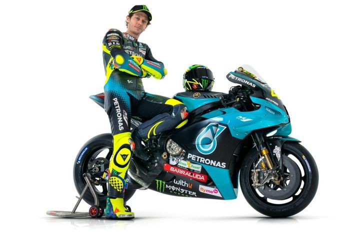 Tes Pramusim di Sirkuit Losail Qatar, Rossi Gunakan Seragam Baru Petronas Yamaha SRT