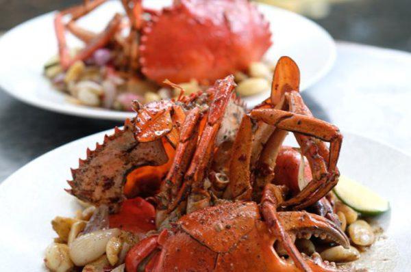 Garlic Butter Crab di BAE Senayan City