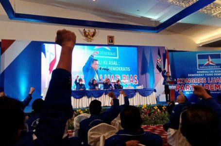 Ketua umum partai Demokrat versi Kongres Luar Biasa (KLB) Deli Serdang, Sumatera Utara, Moeldoko | Foto: Istimewa