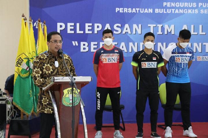 Tim Bulu Tangkis Indonesia Minta Jokowi Pulangkan Mereka dari Inggris