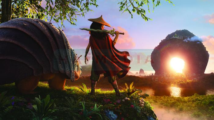 Film Petualangan Fantasi Disney Raya and the Last Dragon Masih Menempati Posisi Puncak Box Office