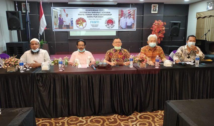 Penasehat FKMTI Yanes Yosua Frans Katakan Indonesia Darurat Agraria