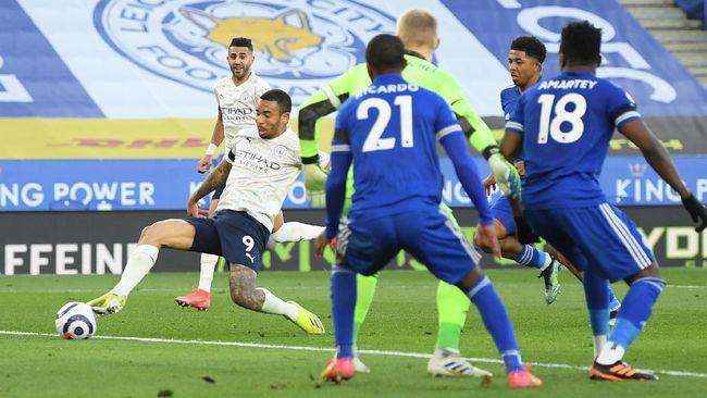 Manchester City Mendekati Juara EPL Setelah Melumat Leicester City 2-0