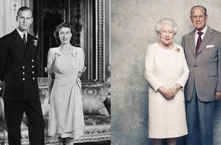 Foto Pernikahan Pangeran Philip dan Ratu Elizabeth | Foto: Istimewa
