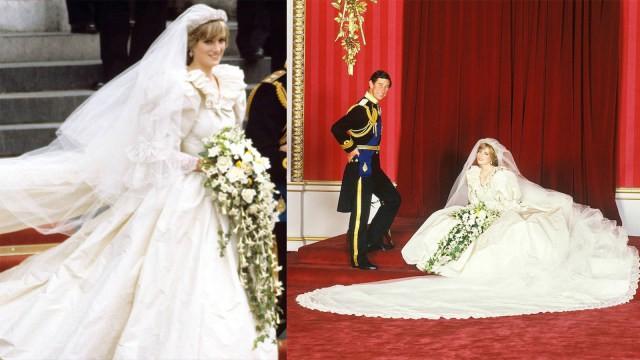 Gaun Pengantin Diana Dipamerkan di Orangery di Kensington Palace