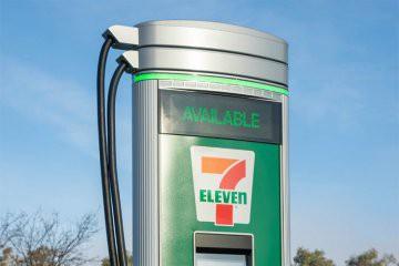 Sebanyak 500 Port  Charging Mobil Listrik Disiapkan  7- Eleven di 250  Toko di AS dan Kanada Akhir 2022