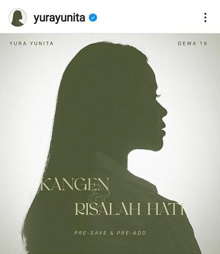 Yura Yunita Dipercaya Ahmad Dhani untuk Nyanyikan Kangen dan Risalah Hati Dalam Rangkaian Rilis Ulang Karya Dewa-19