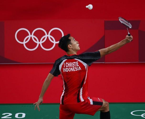 Jonatan Christie Bantai Aram Mahmoud pada Pertandingan Grup G Tunggal Putra  Olimpiade Tokyo 2020