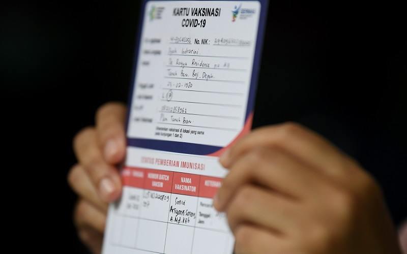 Sudah 42.104.839 Warga Indonesia Terima Vaksin Covid-19 Dosis Lengkap