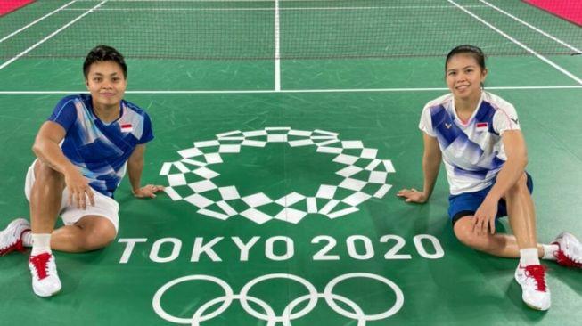 Greysia Polii/Apriyani Kalahkan  Chow Mei Kuan/Lee Meng Yean pada Pembukaan Olimpiade Tokyo 2020