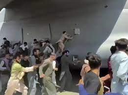 Situasi di Bandara Kabul