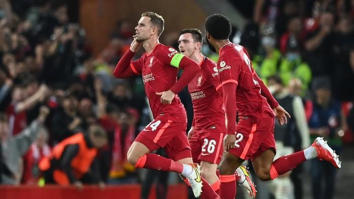 Duel Liverpool vs AC Milan di Anfiel Berakhir dengan Skor 3-2