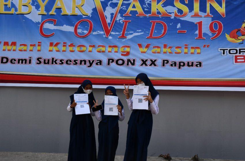 Kembali Satgas Nakes TNI Gelar Giat Serbuan Vaksin Ke Jayapura