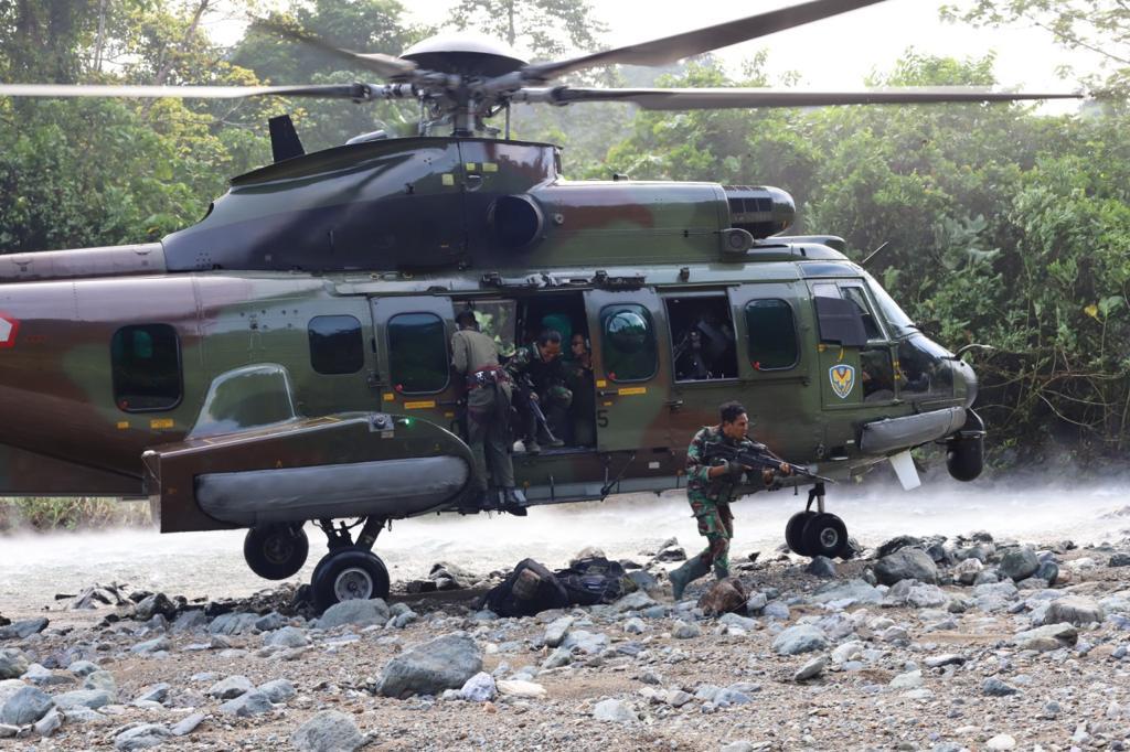 """Koopsgabsus Tricakti TNI: """"7 Teroris Poso Tewas Sepanjang Tahun 2021"""""""