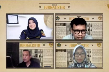 """Bea Cukai Batam selenggarakanWebinardengan tema """"Cara Asyik Belajar Jurnalistik"""", Rabu (13/10/2021)"""
