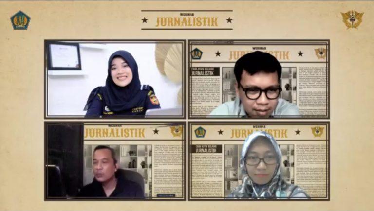 Tingkatkan Kemampuan Jurnalistik, Bea Cukai Batam Selenggarakan Webinar